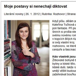 Kateřina Tučková - spisovatelka