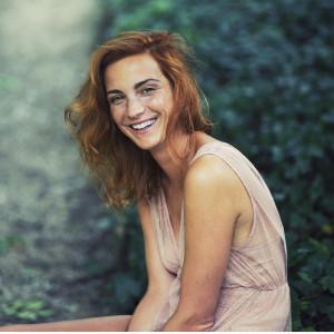 Michaela Maurerová - herečka, pro projekt JSEM by Vlastina Svátková